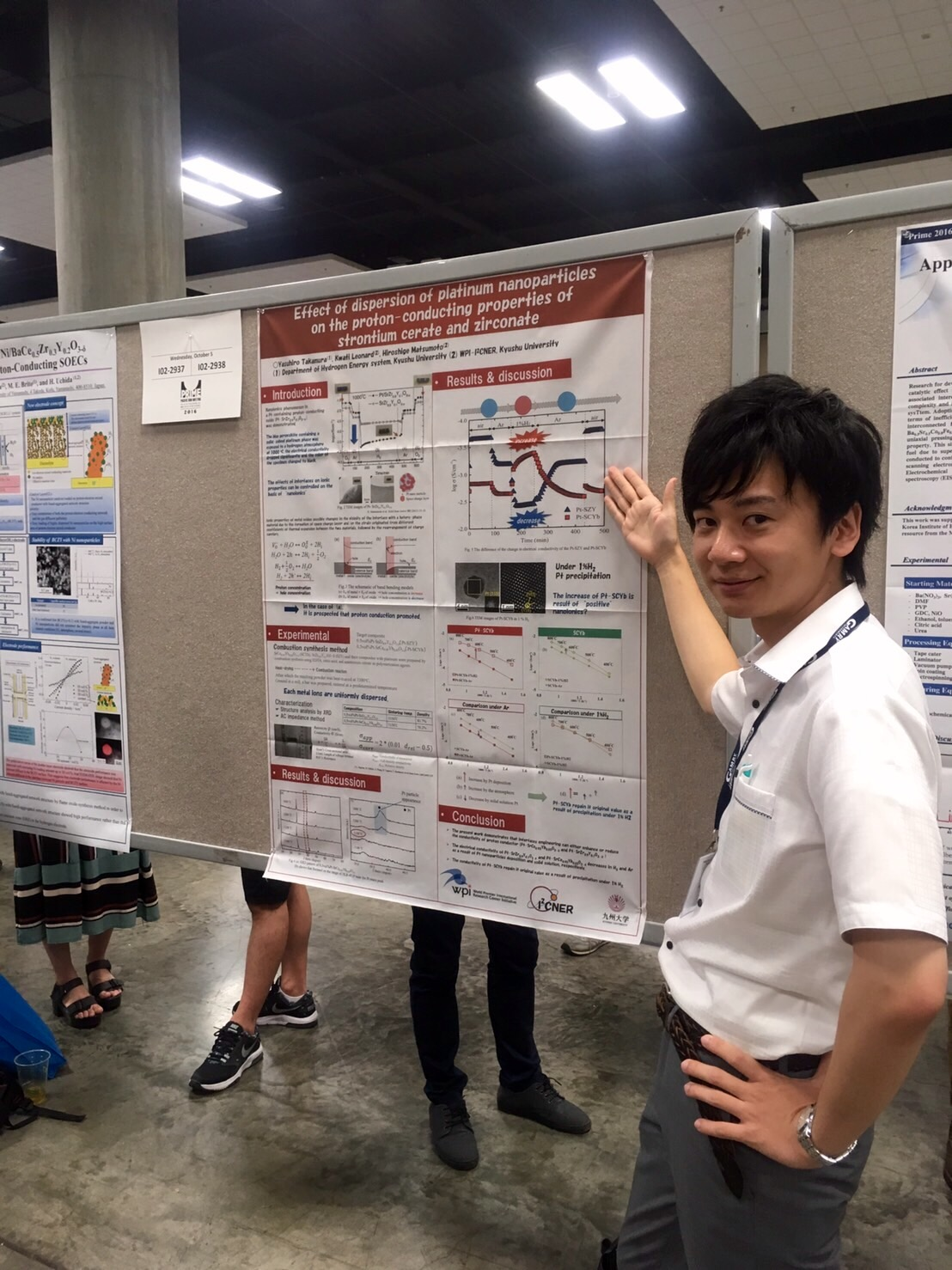 Prof.Matsumoto and Labo's 5 members participated at PRIME2016 (10 / 2~10 / 7, Hawaii).