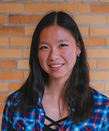 Aileen from University of California, Berkeley has been assigned to our laboratory, as an international student.