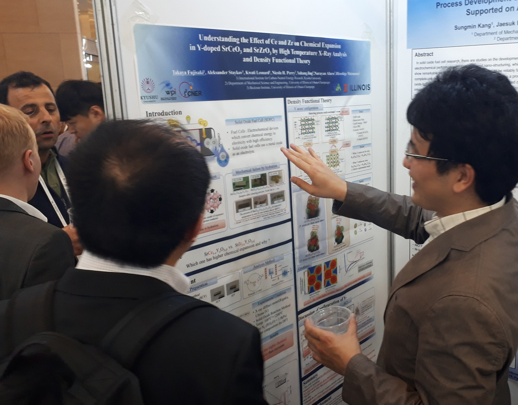 Dr. Takaya Fujisaki received the best poster awards in 22nd International Conference on Solid State Ionics.